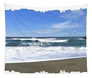 Sandy Shores Of Oregon Tapestry