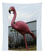 Santa Bird Tapestry