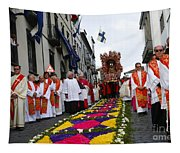 Santo Cristo Dos Milagres Tapestry