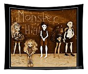 Sarah's Monster High Collection Sepia Tapestry