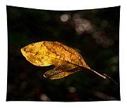 Sassafras Leaf Glowing Tapestry