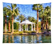 Saturday In The Park Tapestry