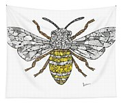 Save The Bees Tapestry