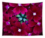 Scarlet Bouquet  Tapestry