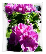 Scented Geraniums Tapestry
