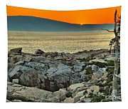 Schoodic Sunset Tapestry