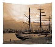 Sea Cloud II Tapestry