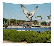 Sea Gull With Full Flaps Tapestry