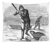 Seal Hunting, 1867 Tapestry