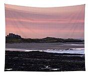 Seashore At Sunset, Northumberland Tapestry