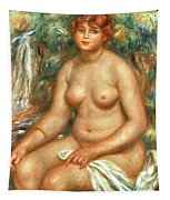 Seated Bather Tapestry