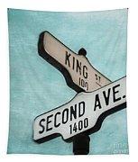 second Avenue 1400 Tapestry by Priska Wettstein