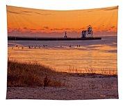 Serenity Beach Tapestry