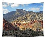 Setting Desert Sun Tapestry