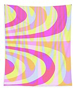 Seventies Swirls Tapestry