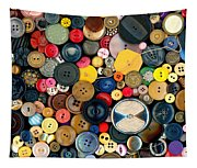 Sewing - Buttons - Bunch Of Buttons Tapestry