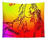 Sex And Drugs Tapestry