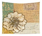 Shabby Chic Floral 1 Tapestry