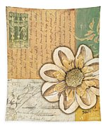 Shabby Chic Floral 2 Tapestry