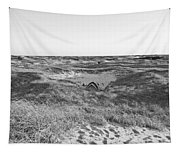Shackleford Banks Camping Tapestry