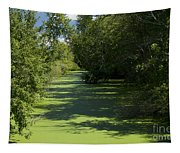 Shades Of Green Tapestry