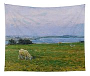 Sheep Grazing Tapestry