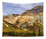 Sheep Mountain Along Glenn Highway Tapestry
