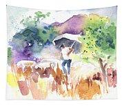 Shepherd In Saint Bertrand De Comminges Tapestry