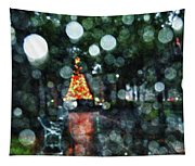Shiny Tree In Bienville Square Tapestry