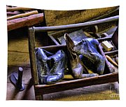 Shoe - The Shoe Cobblers Box Tapestry