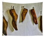Shoe - Wooden Shoe Forms Tapestry
