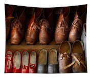 Shoemaker - Shoes Worn In Life Tapestry