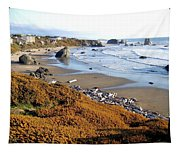 Shores Of Oregon Tapestry