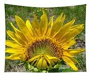 Shy Sunflower Tapestry