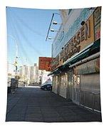 Sidewalks Of Gum Tapestry