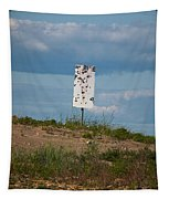 Sign At The Gulf Of Bothnia Tapestry