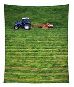 Silage Making, Ireland Tapestry