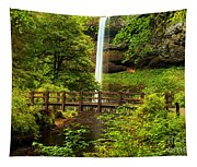 Silver Falls Bridge Tapestry