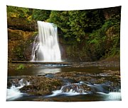 Silver Falls Waterfall Tapestry