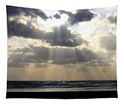 Silver Rays Tapestry