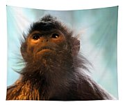 Silvered Langur Tapestry