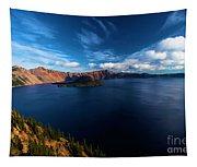 Sinott Crater Lake View Tapestry