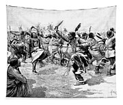 Sioux Ghost Dance, 1890 Tapestry