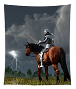 Sir Lightning Rod Tapestry
