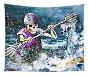 Skelet Oar Tapestry