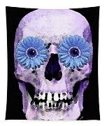 Skull Art - Day Of The Dead 3 Tapestry