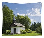 Small Chapel In Bavaria Tapestry