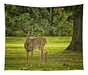 Small Stag Tapestry