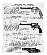 Smith & Wesson Revolvers Tapestry
