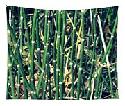 Snake Grass On The Beach Tapestry